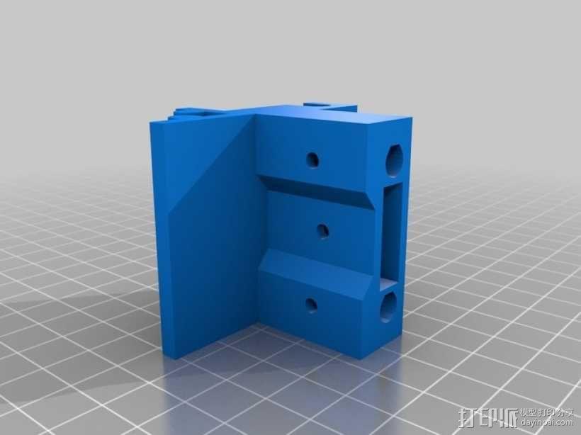可折叠Reprap 3D打印机 3D模型  图17