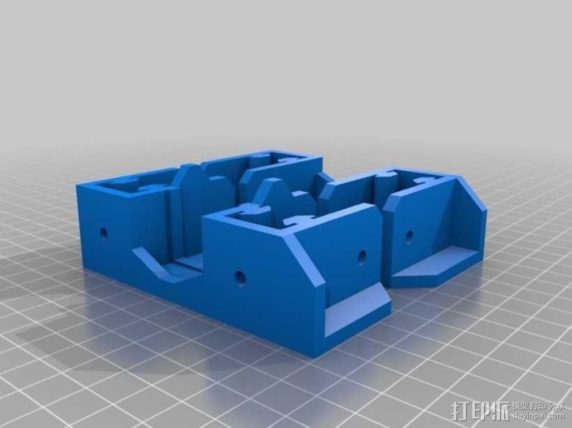 可折叠Reprap 3D打印机 3D模型  图19
