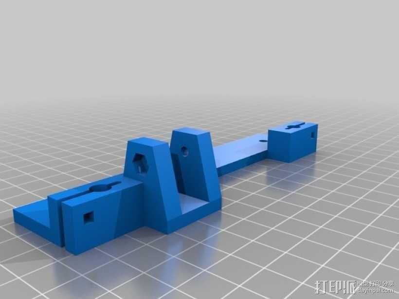 可折叠Reprap 3D打印机 3D模型  图18