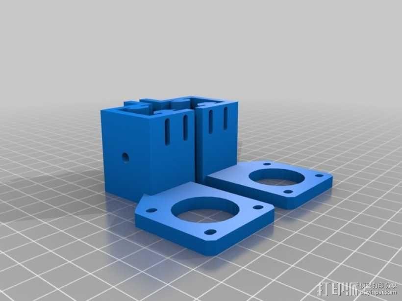 可折叠Reprap 3D打印机 3D模型  图21