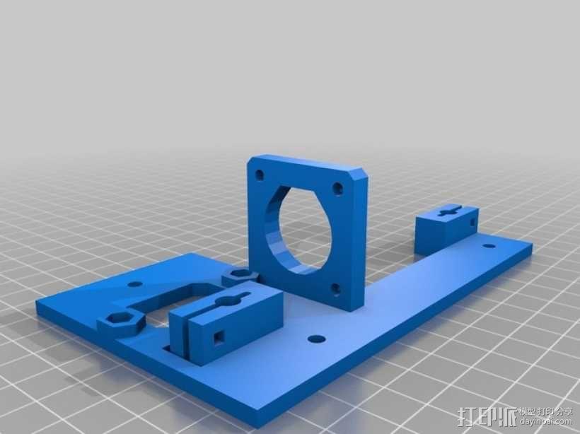 可折叠Reprap 3D打印机 3D模型  图20