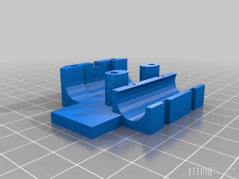 可折叠Reprap 3D打印机 3D模型  图24
