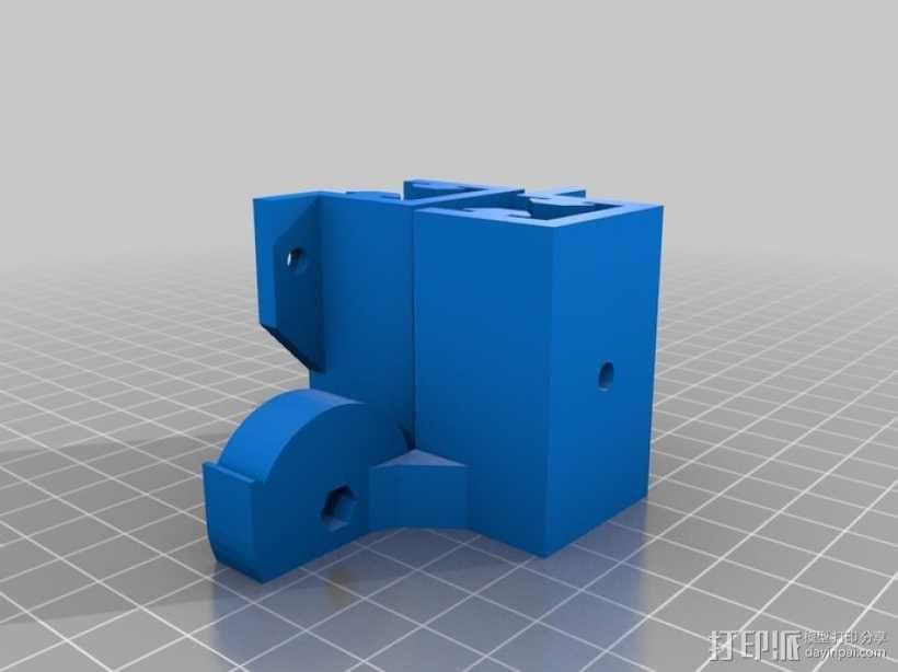 可折叠Reprap 3D打印机 3D模型  图22