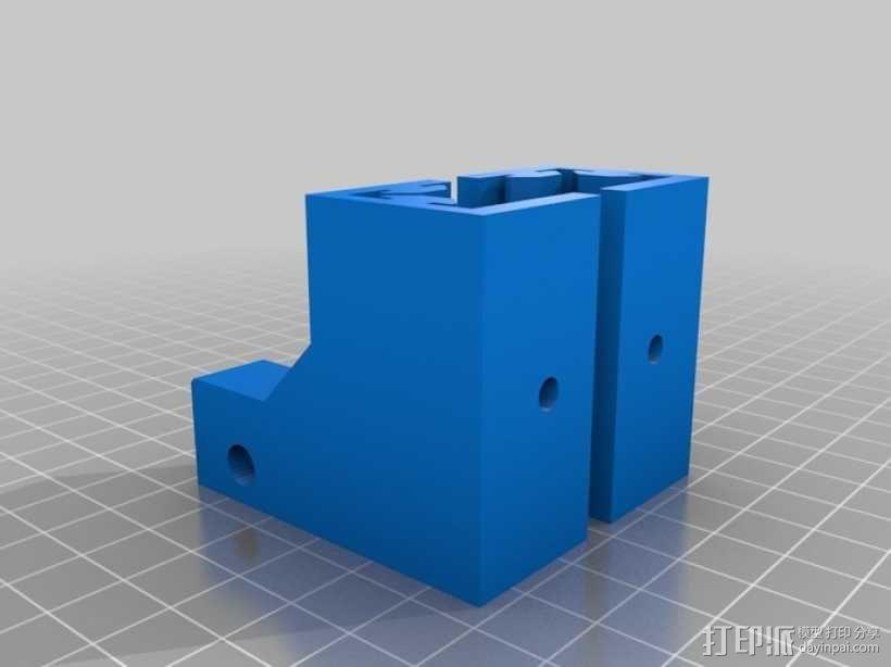 可折叠Reprap 3D打印机 3D模型  图23