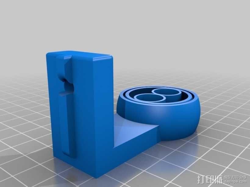 线材清洁装置 3D模型  图2