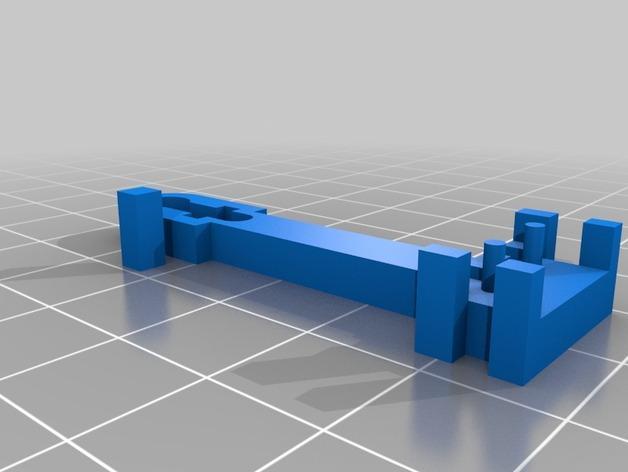 Prusa i3 3D打印机挤出机配适器 3D模型  图10