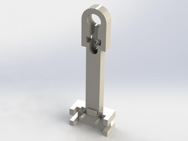 Prusa i3 3D打印机挤出机配适器 3D模型  图11