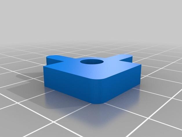 Prusa i3 3D打印机挤出机配适器 3D模型  图15
