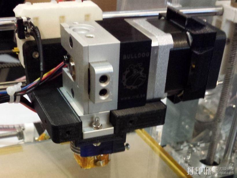 Prusa i3 3D打印机挤出机配适器 3D模型  图17