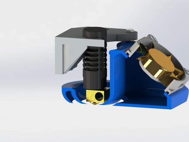 韦德适配器通风导管  3D模型  图1