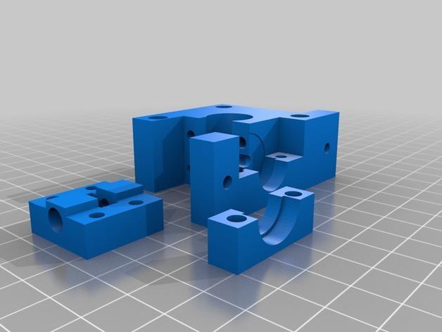 V10 JGR挤出机 3D模型  图2