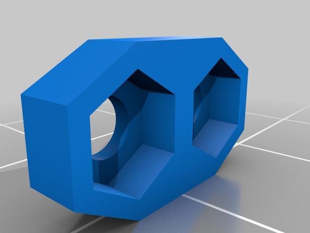 皮带驱动双挤出机 3D模型  图3