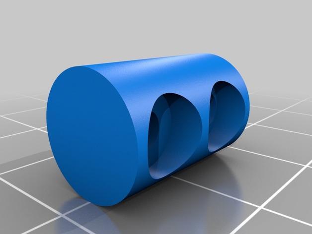 皮带驱动双挤出机 3D模型  图5