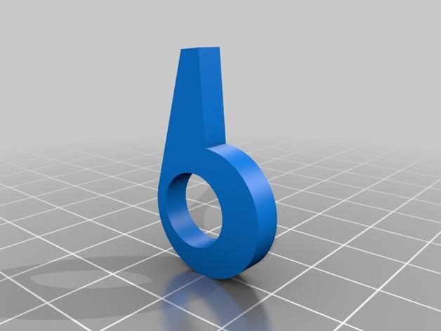 皮带驱动双挤出机 3D模型  图4
