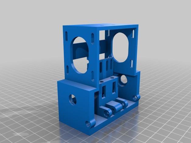 皮带驱动双挤出机 3D模型  图6