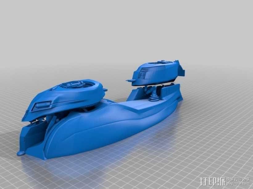 未来的赛车 3D模型  图2