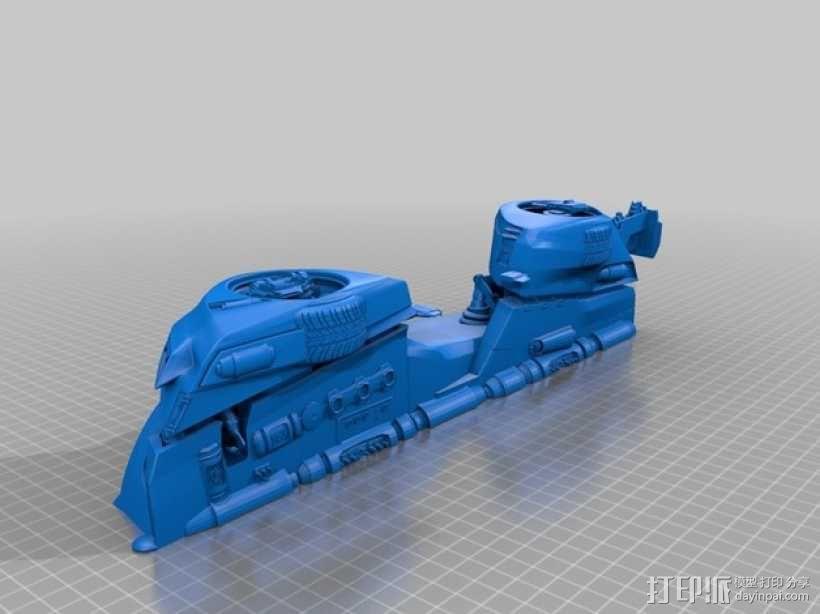 未来的赛车 3D模型  图3
