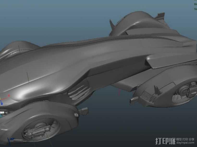 未来的赛车 3D模型  图5