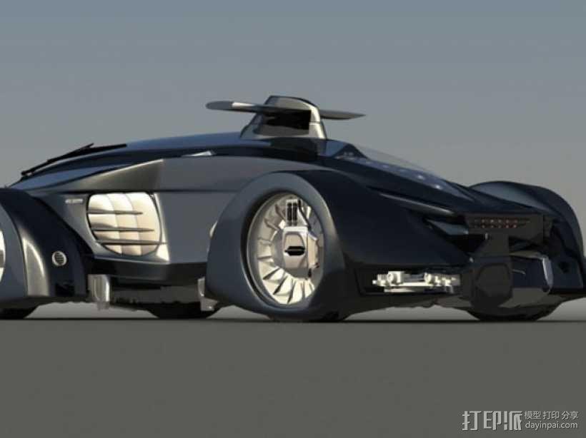 未来的赛车 3D模型  图4