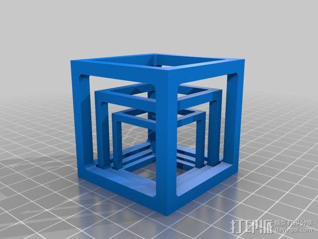桥接测试样品 3D模型  图1