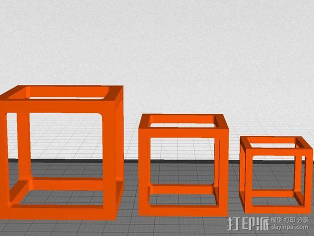 桥接测试样品 3D模型  图3