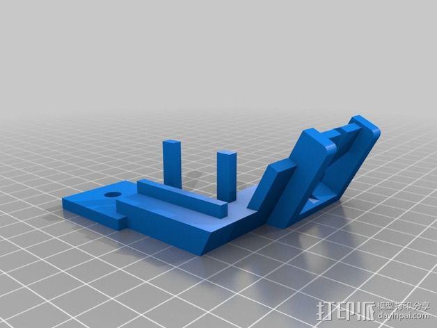 网络摄像头固定架 3D模型  图5