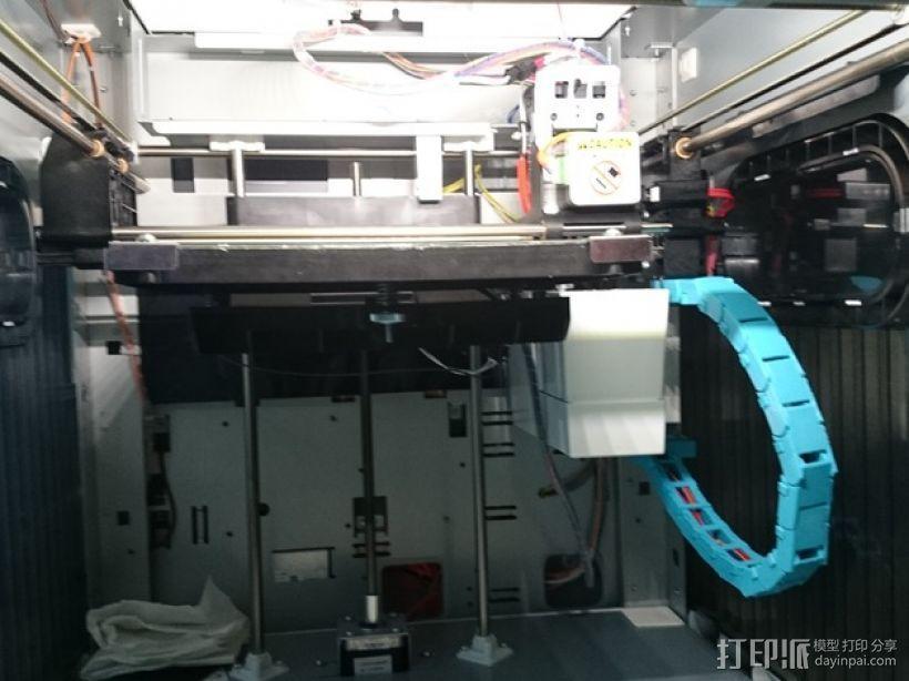 Da Vinci 1.0 3D打印机电缆坦克链 3D模型  图1