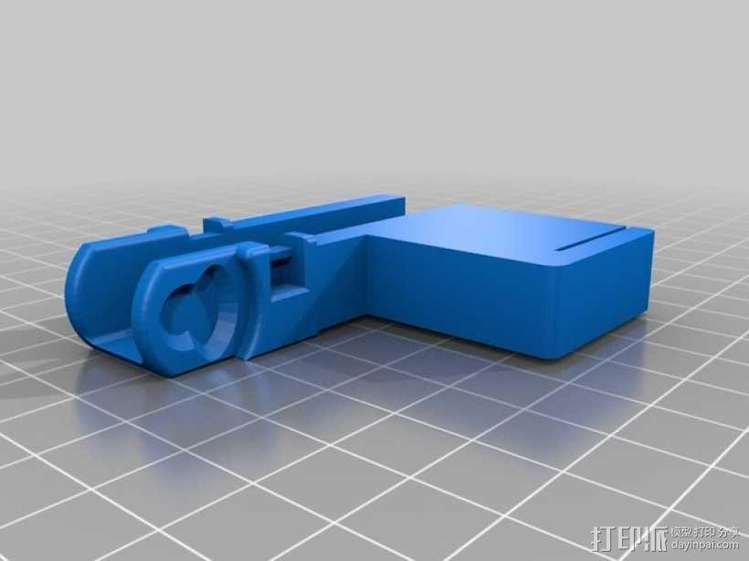 Da Vinci 1.0 3D打印机电缆坦克链 3D模型  图2