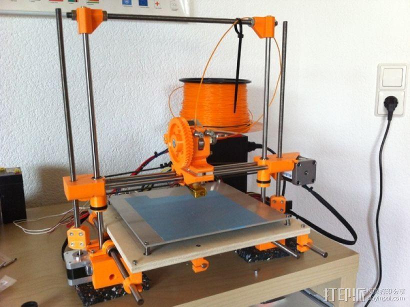 RepRap Wallace 3D打印机 3D模型  图1