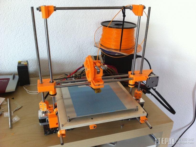 RepRap Wallace 3D打印机 3D模型  图2