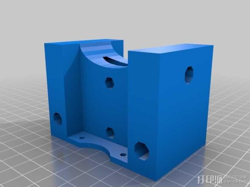 RepRap Wallace 3D打印机 3D模型  图8