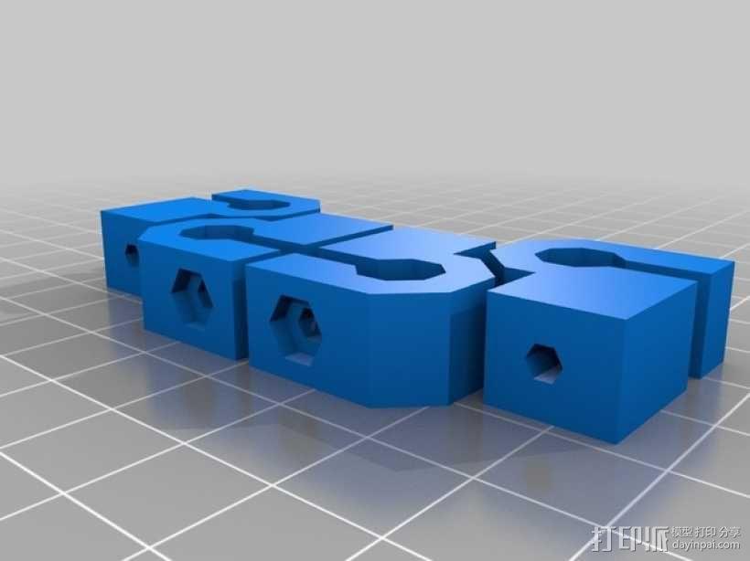 RepRap Wallace 3D打印机 3D模型  图15