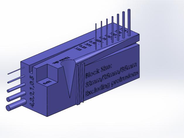 公制校准器 3D模型  图3