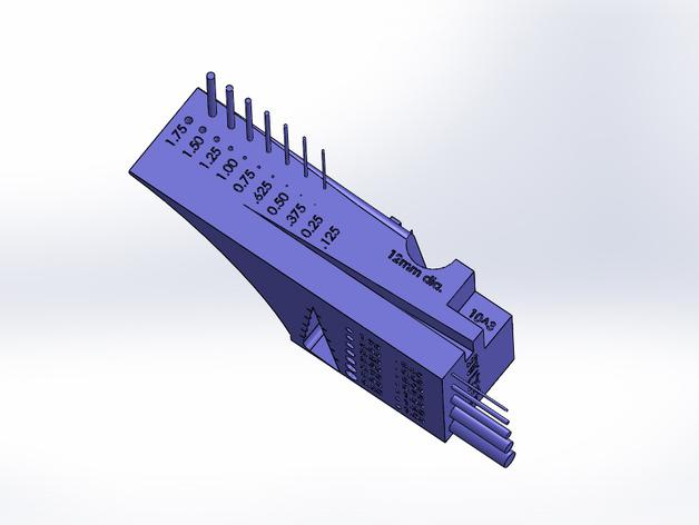 公制校准器 3D模型  图4