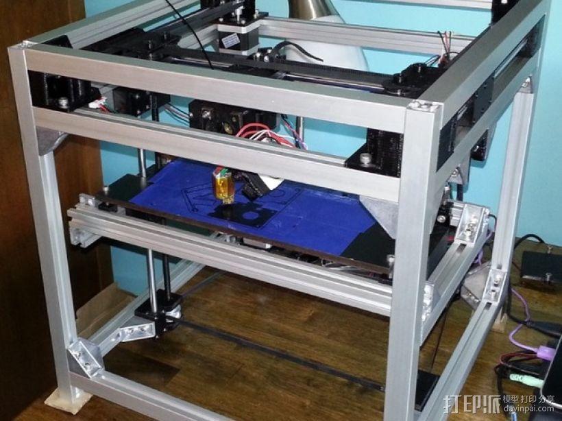 3uP 3D打印机 3D模型  图2