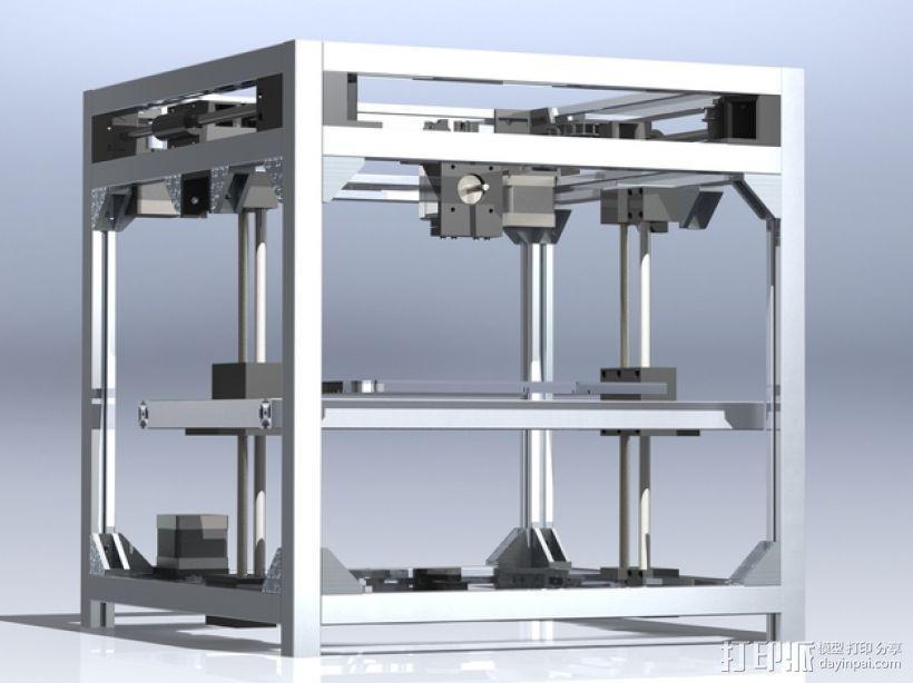 3uP 3D打印机 3D模型  图3