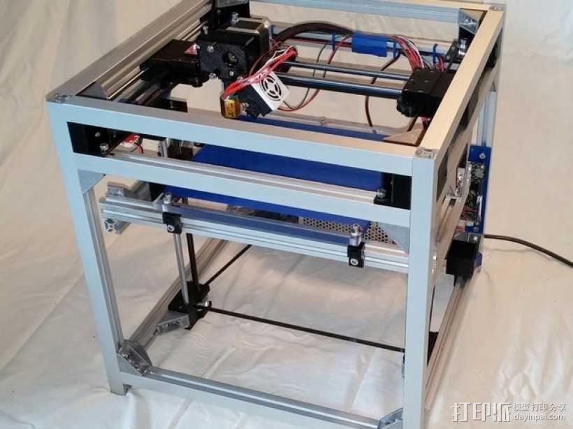 3uP 3D打印机 3D模型  图1