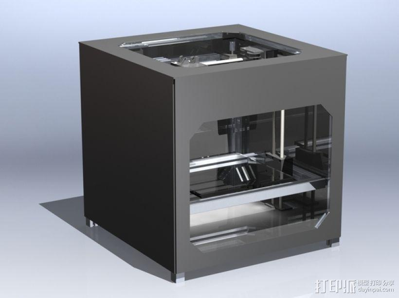 3uP 3D打印机 3D模型  图5