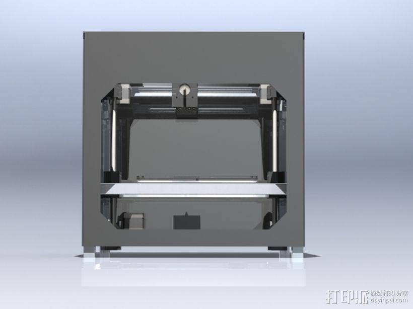 3uP 3D打印机 3D模型  图4