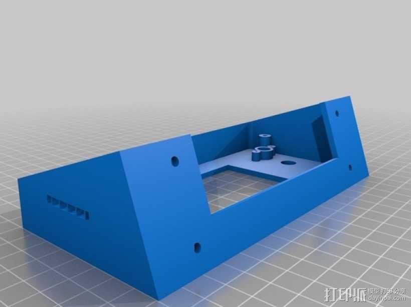 智能LED显示屏底座 3D模型  图4