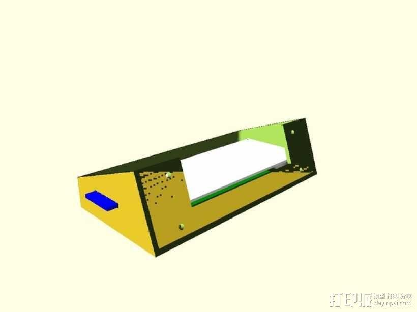 智能LED显示屏底座 3D模型  图6