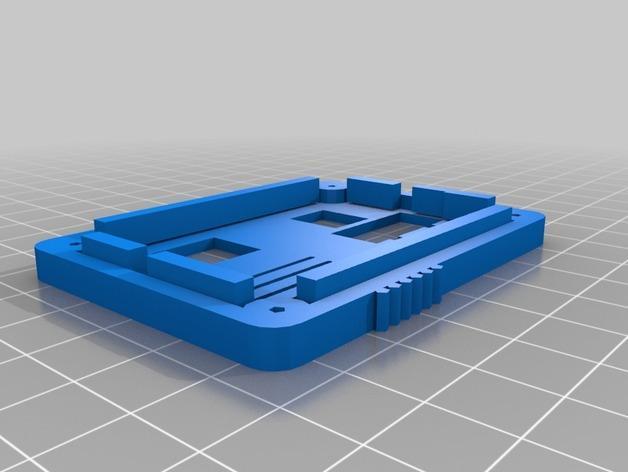 RAMP 1.4控制板外壳 3D模型  图4