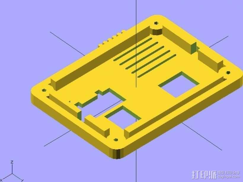 RAMP 1.4控制板外壳 3D模型  图8