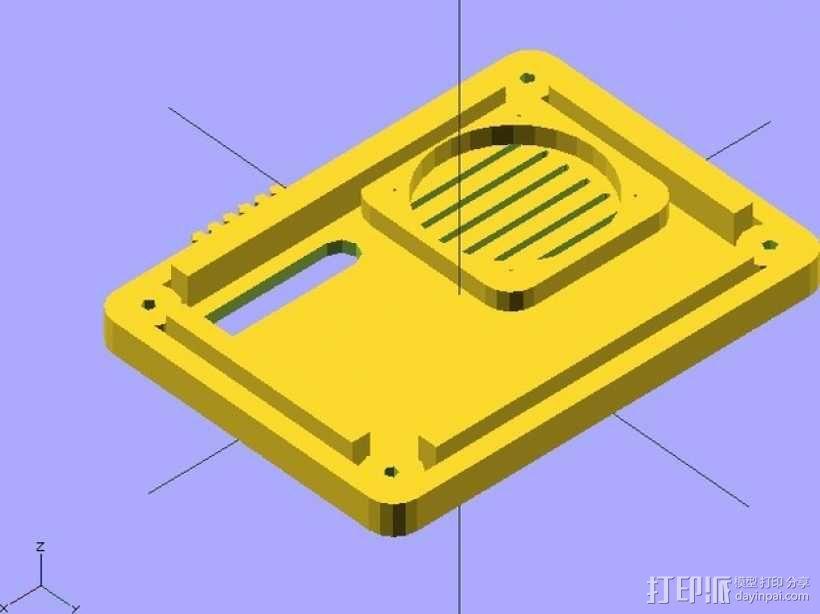 RAMP 1.4控制板外壳 3D模型  图9