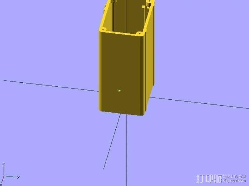RAMP 1.4控制板外壳 3D模型  图7