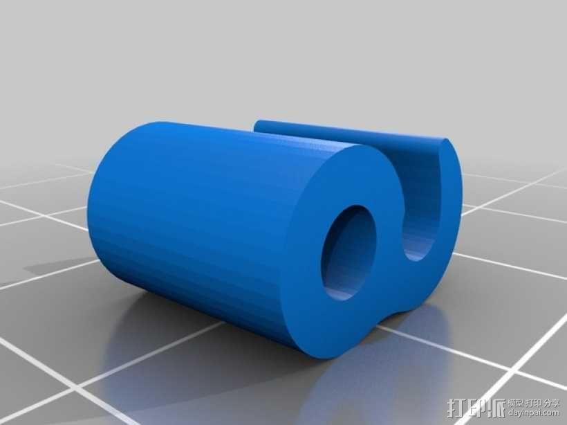 3毫米线材夹 3D模型  图3