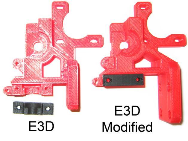 i3 E3D 挤出机 3D模型  图2