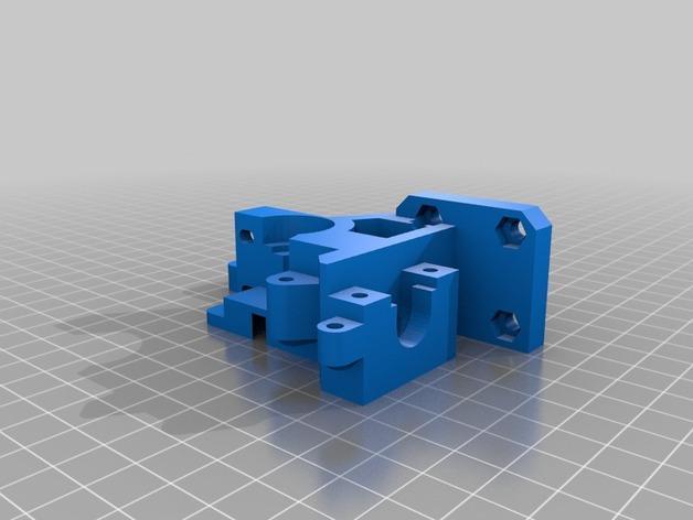 i3 E3D 挤出机 3D模型  图11