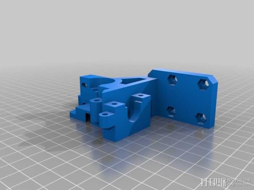 i3 E3D 挤出机 3D模型  图13