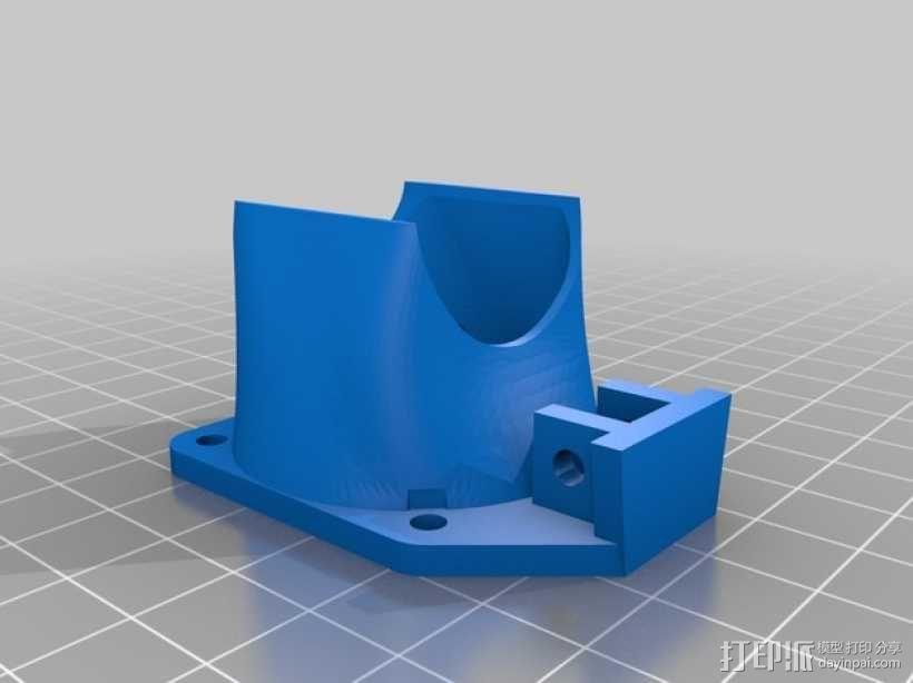 i3 E3D 挤出机 3D模型  图16